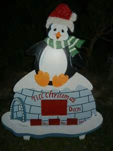 animated countdown to christmas winter wonderland penguin