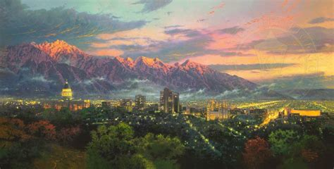 salt lake city house painters salt lake city thomas kinkade 2005 la ciudad en el arte