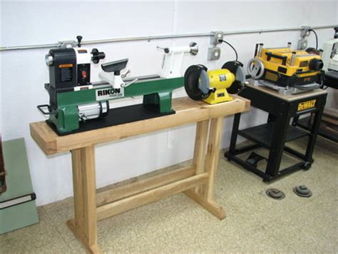 building  lathe stand turning