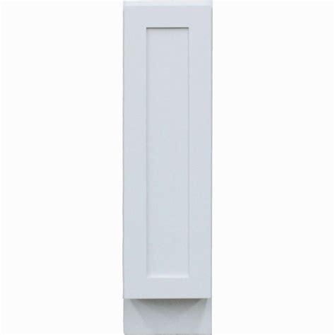 white shaker full height door base kitchen cabinet krosswood doors shaker ii ready to assemble 9x34 5x24 in