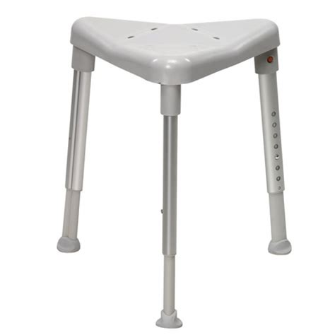 corner shower stool edge standard height 420 570mm swl