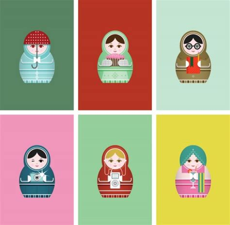 russian doll design wallpapers renegade umbrella russian dolls