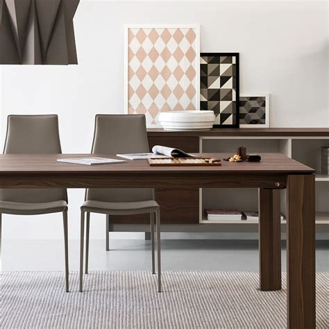 calligaris tavolo omnia calligaris omnia wood extendable table