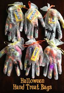 Costco Card Table Halloween Glove Treat Ideas Crafty Morning