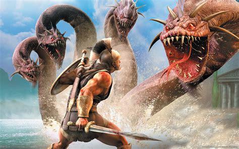 wallpaper game cool titan quest wallpaper 17