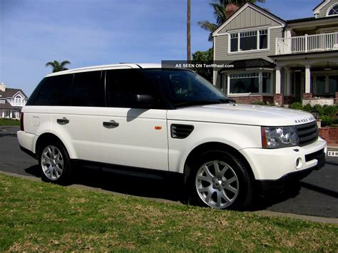 2008 range rover hse 2008 land rover range rover sport hse sport utility 4