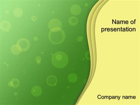 Rising Bubbles Powerpoint Template For Impressive Presentation Free Download Free Downloadable Powerpoint Templates