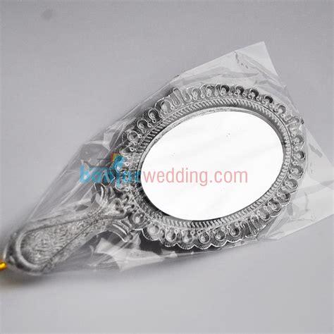 Cermin Plastik souvenir cermin perak gagang sv 16 banjar wedding