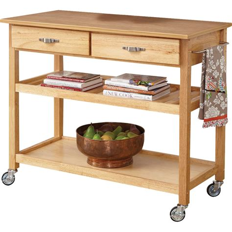 Kitchen Island Wood Top Home Styles Kitchen Island With Wood Top Reviews Wayfair