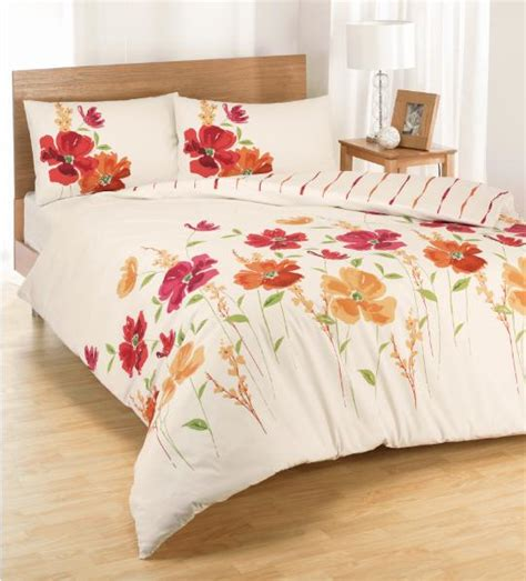 poppy bedding red poppy double duvet www perfectlyboxed com