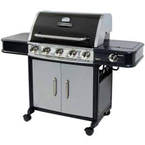 brinkmann 5 burner dual fuel gas grill discontinued 810