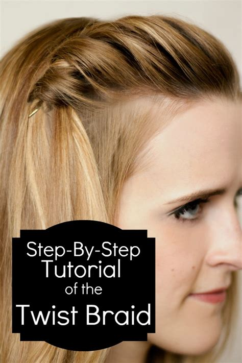 howtodo a twist in thefringe step by step how to do a twist braid and waterfall six sisters stuff