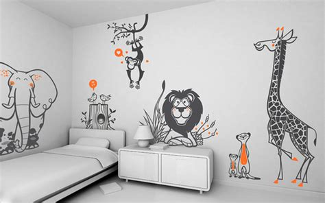 kids room wall decoration funny wall stickers adorable