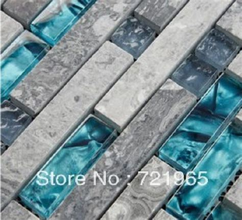 Kitchen Backsplash Mosaic Tiles Blue And Gray Backsplash Mi Casa Su Casa Pinterest