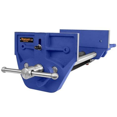 industrial bench vice m90k renegade 9 quot woodworking vice quick release industrial bench vice tradetools