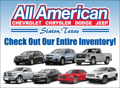 All American Chrysler Jeep Dodge All American Chrysler Dodge Jeep Chrysler Dodge Jeep