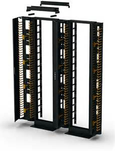Wire Cabinet Doors Vertical Cable Management For Relay Rack