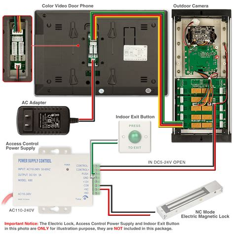 Apartment Security System Nyc Wired Door Phone Security Intercom System 2 12 Apartment