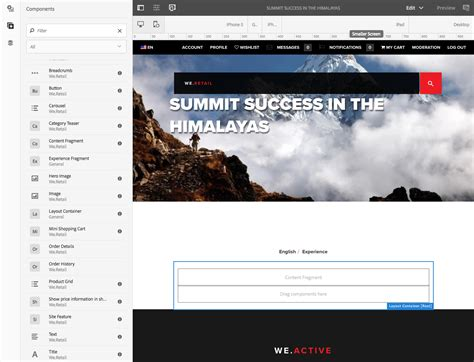 6 responsive layouts responsive layout