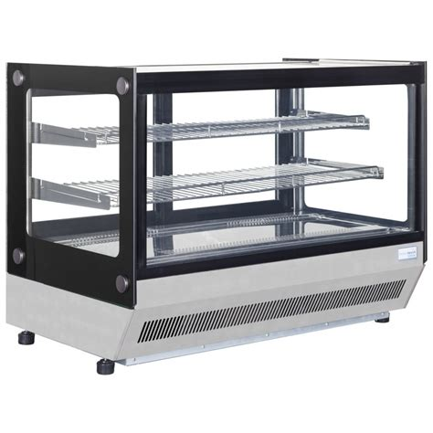 refrigerated bar top interlevin lct900f refrigerated counter top display