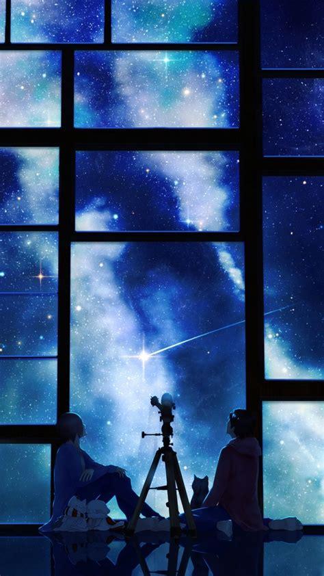 anime wallpaper hd samsung galaxy s3 download wallpaper 720x1280 tamagosho sky stars