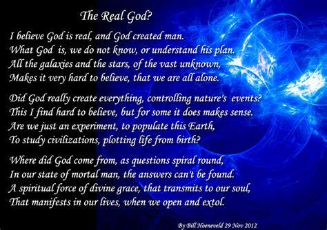 the real god spiritual poetry