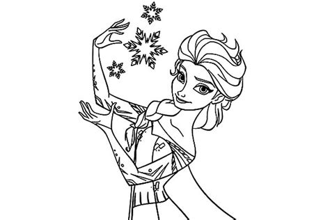 easy elsa coloring page elsa coloring pages easy coloring coloring pages