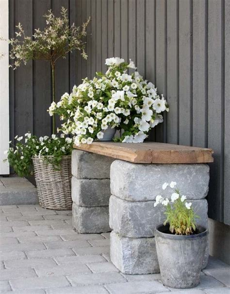 diy cinder block bench   garden creative ideas