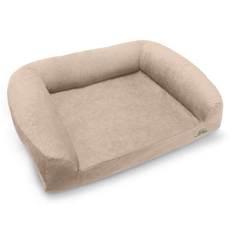 memory foam dog beds divinity bolster memory foam dog bed