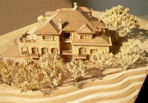 how to build a model house out of wood architectural model scale model model maker