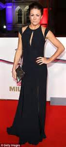 teresa caputo black white red dress theresa may recycles slinky red dress for military awards