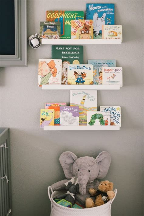 17 best ideas about nursery bookshelf on baby