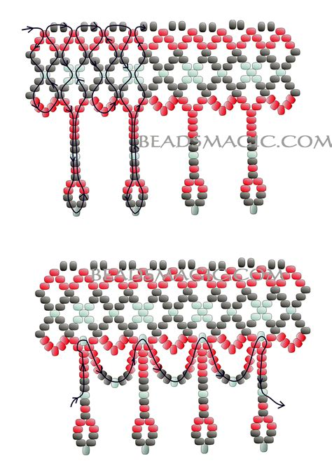 free pattern for necklace selma magic bloglovin