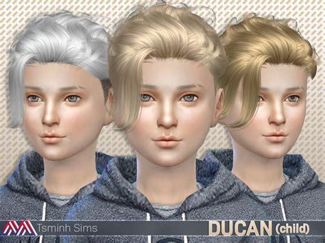 sims 4 tsr child hair sims 4 hairs the sims resource ducan hair 15 for boys