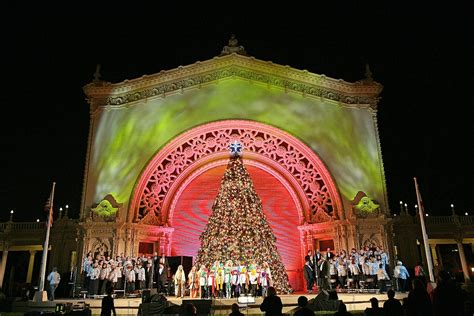 balboa park christmas lights festivals kick at balboa park and petco park kpbs