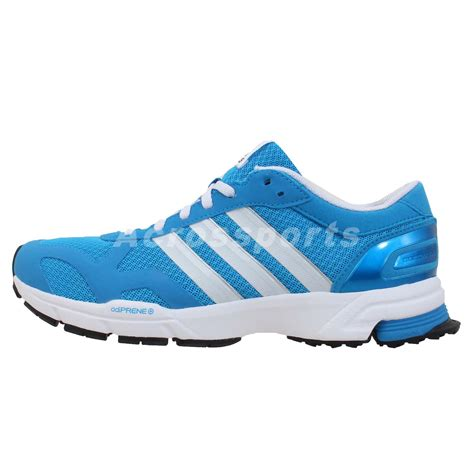 Adidas Mararhon Import adidas marathon 10 ng w blue white womens racing running shoes sneakers ebay