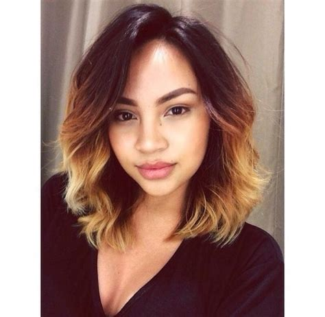 Sunday photo short ombr 233 hairstyle inspiration and how to