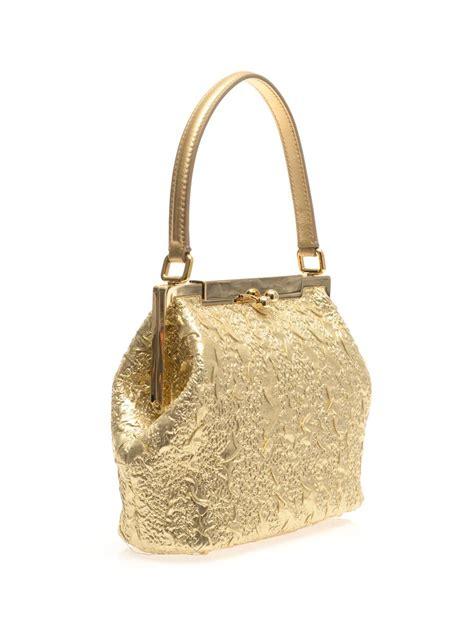 Dg Dolce Gabbana Metallic Shopper by Dolce Gabbana Metallic Brocade Tophandle Bag In