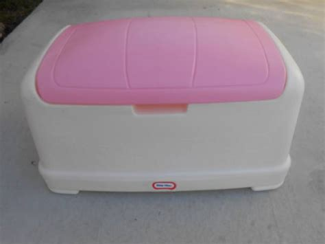little tikes pink toy box together with little tikes pirate ship bed little tikes pink and white toy box for sale