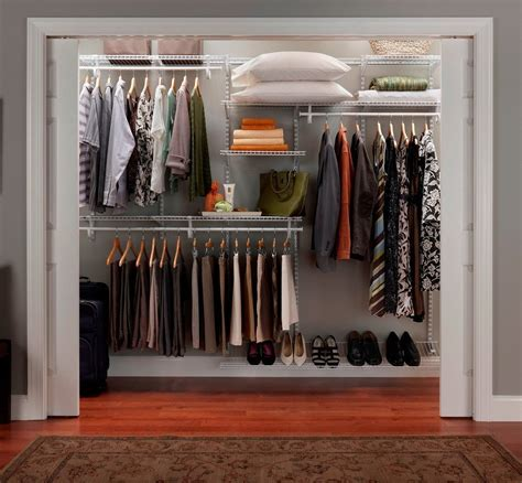 How To Organize Top Shelf Of Closet by Big Size Closet Organization Shelf 7 To 10 White Color