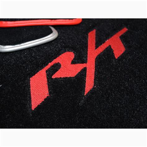 Floor Mat With Logo by Dodge Magnum R T Mopar Logo Floor Mats Cargo Mat Set