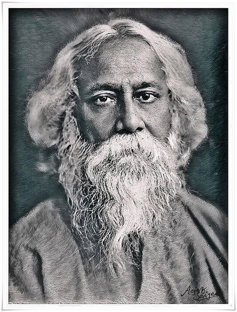 rabindranath tagore biography in simple english pics for gt rabindranath tagore sketch picture