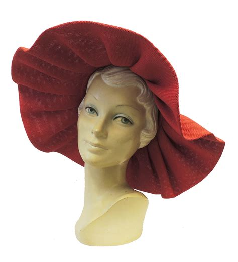 New Vintage Hats At Candysayscouk by New Retro Wide Brim Large Raffia Summer Sun Hat 1940 S