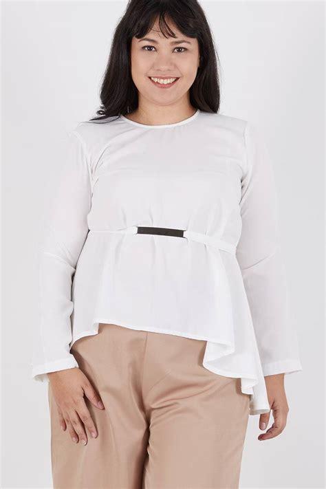 Rowena Knot Top White sell rowena knot top white blouse berrybenka