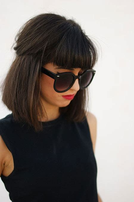 medium short hairstyles with side bangs medium short hairstyles 25 super cute medium haircuts