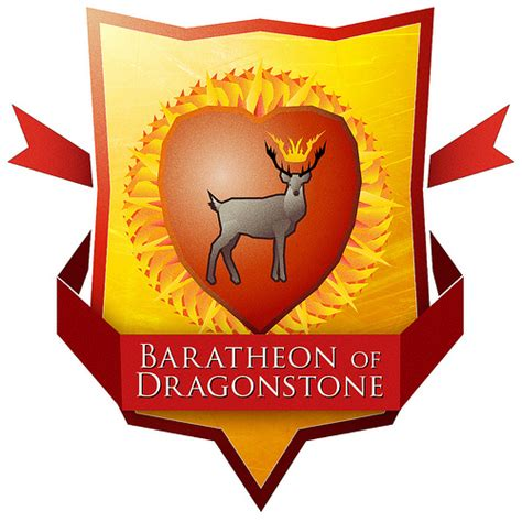 house baratheon of dragonstone baratheon of dragonstone crest a song of ice and fire a k flickr photo sharing