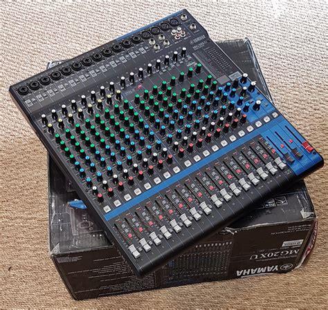 Mixer Yamaha Mg 20 Xu yamaha mg20xu image 2033812 audiofanzine