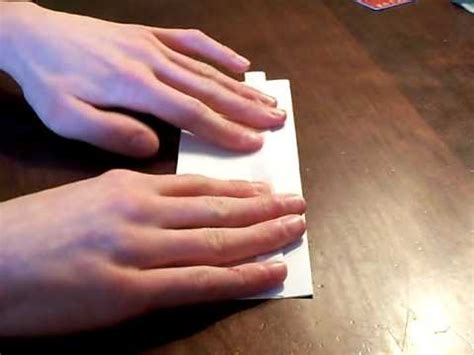 How To Make A Paper Wallet Without - how to make a paper wallet without or scissors