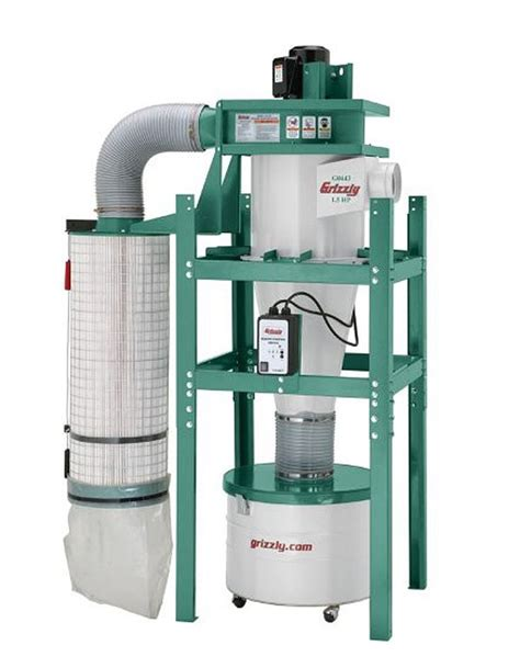 woodworking cyclone dust collection systems reviews cyclone dust collection system g0443 finewoodworking