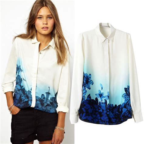 down blouses for 2013 video star travel international down blouses for new 2014 fashion blouse women body causal long sleeve